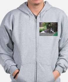 Morty At Leisure Zip Hoodie