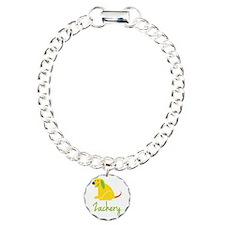 Zachery Loves Puppies Bracelet