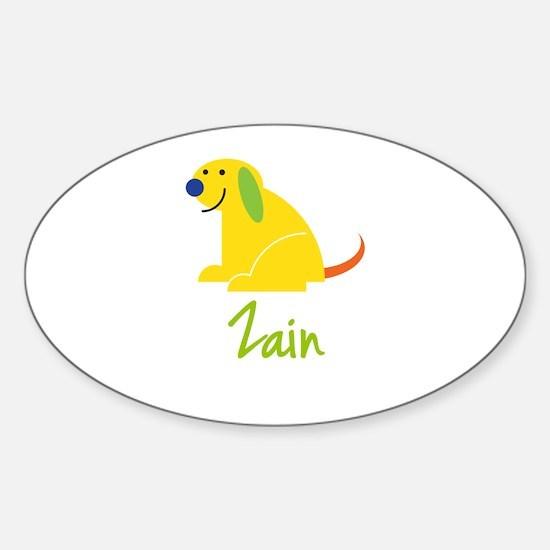 Zain Loves Puppies Decal