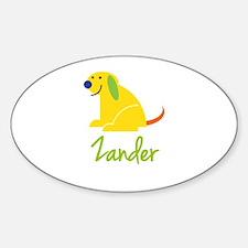 Zander Loves Puppies Decal