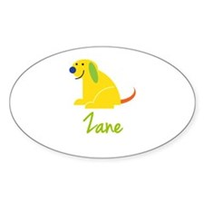 Zane Loves Puppies Decal