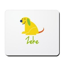 Zeke Loves Puppies Mousepad