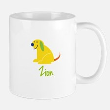 Zion Loves Puppies Mug