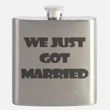 WE JUST GOT MARRIED Flask