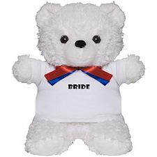 BRIDE IN BLACK Teddy Bear