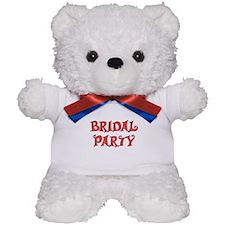 BRIDAL PARTY Teddy Bear