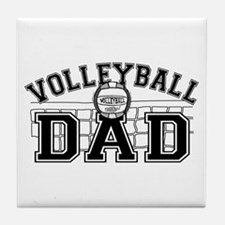 Volleyball Dad Tile Coaster