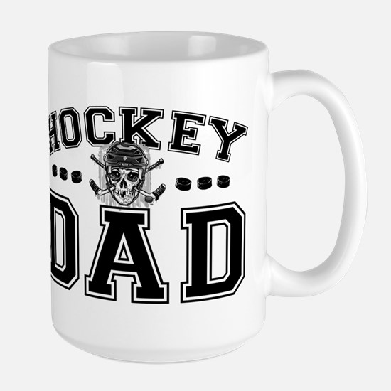 Hockey Dad Large Mug