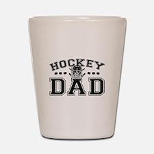 Hockey Dad Shot Glass