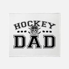 Hockey Dad Throw Blanket