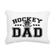 Hockey Dad Rectangular Canvas Pillow