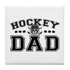 Hockey Dad Tile Coaster