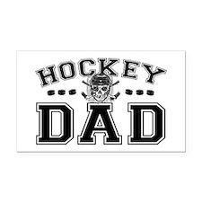 Hockey Dad Rectangle Car Magnet