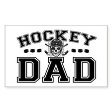 Hockey Dad Bumper Stickers