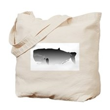 Sperm Whale mammal Tote Bag
