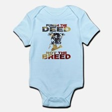 PUNISH THE DEED NOT THE BREED Body Suit
