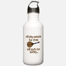 funny mandolin Water Bottle