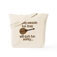funny mandolin Tote Bag