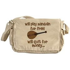 funny mandolin Messenger Bag