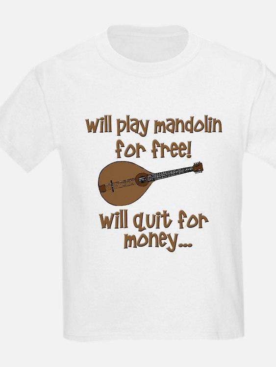 funny mandolin T-Shirt