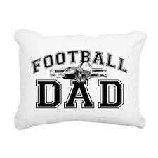 Football Dad Rectangular Canvas Pillow