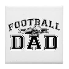 Football Dad Tile Coaster