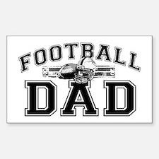 Football Dad Decal