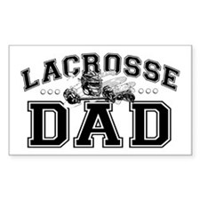 Lacrosse Dad Decal