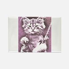 Cat Fish or fishing cat Rectangle Magnet