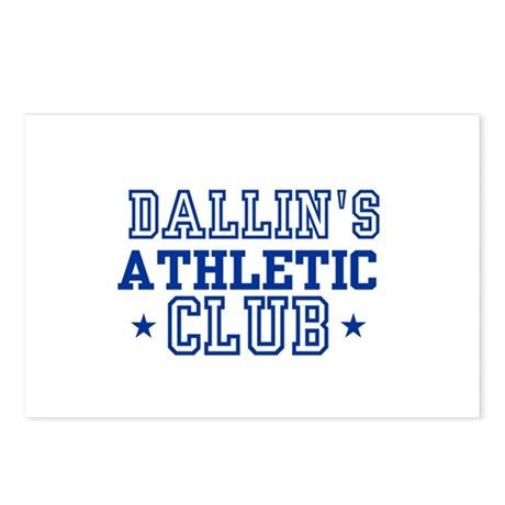 Dallin Postcards (Package of 8)