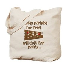 funny marimba Tote Bag
