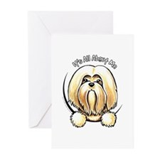 Lhasa Apso IAAM Greeting Cards (Pk of 10)