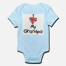 I Love My Grandpa Infant Creeper Body Suit