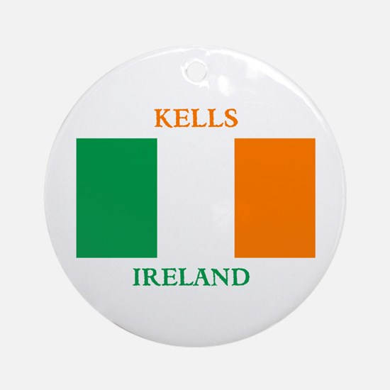 Kells Ireland Ornament (Round)