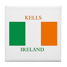 Kells Ireland Tile Coaster