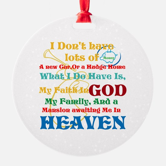 A Mansion In Heaven Ornament