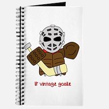 Lil Vintage Hockey Goalie Journal