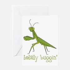 Totally Buggin Greeting Card