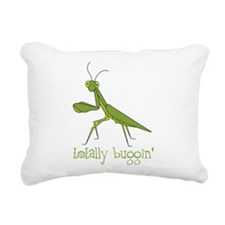 Totally Buggin Rectangular Canvas Pillow