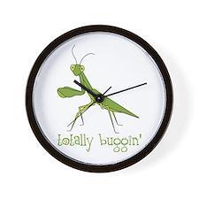 Totally Buggin Wall Clock