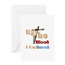 By The Blood Greeting Card
