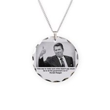 Ronald Reagan Necklace