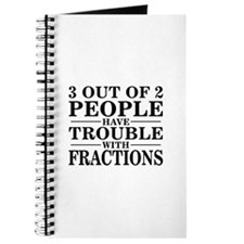 Sayings: Trouble With Fractions Journal