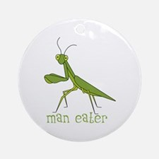 Man Eater Ornament (Round)