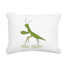Man Eater Rectangular Canvas Pillow