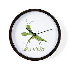 Man Eater Wall Clock
