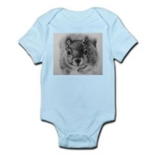 Squrrel Sketch Infant Bodysuit