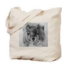 Squrrel Sketch Tote Bag