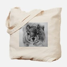 Squrrel Sketch Tote Bag