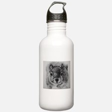 Squrrel Sketch Water Bottle